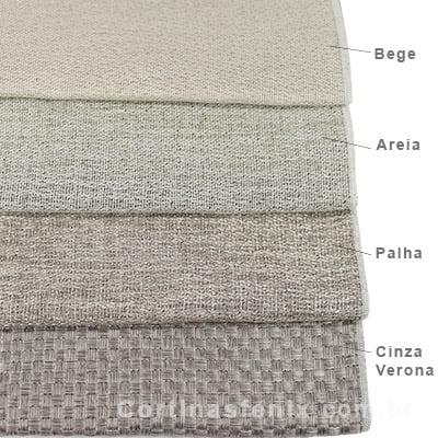 Corta luz tecido rustico cortinas fenix