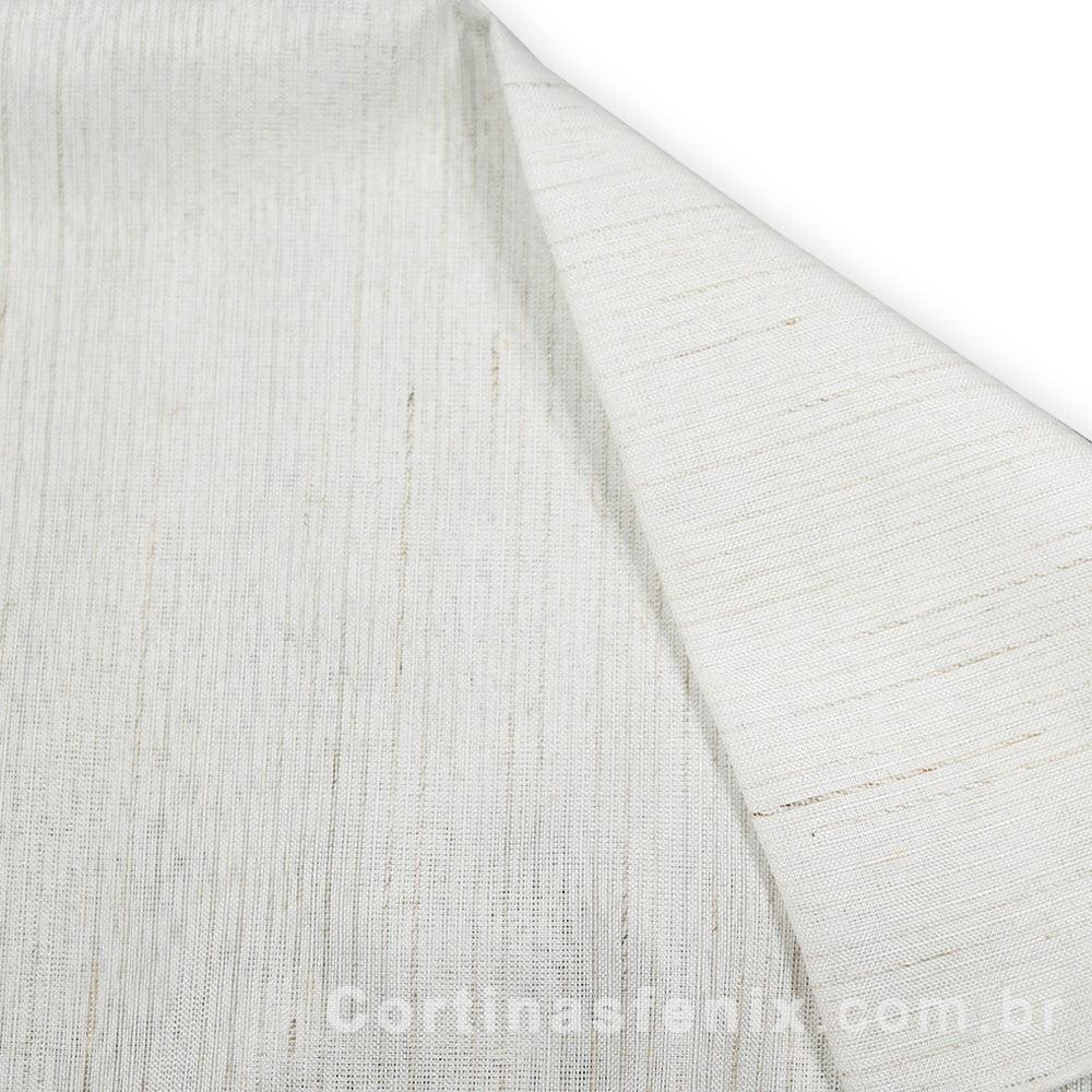 Tecido Linho Kabul Branco Largura 2,90m