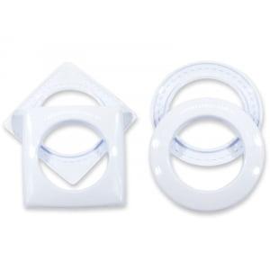 Ilhós para cortina 28mm - Branco