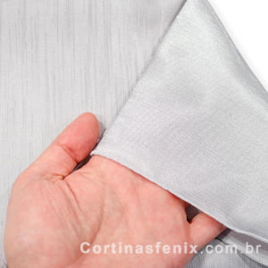 Tecido Shantung Maioral Prata Largura 3,00m Importado