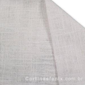 Tecido Linho Tipo Estocolmo Branco Largura 2,80m