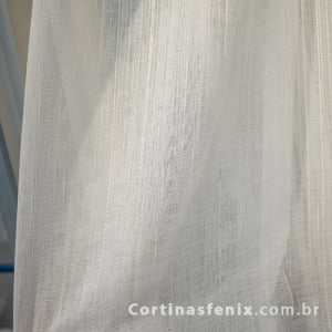 Voil Linho Terni Branco 3,00m de largura
