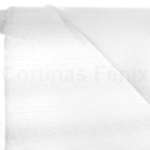 Tecido Voil Fantasia Branco Largura 3,00m