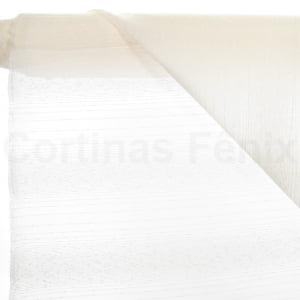 Tecido Voil Fantasia Marfim Largura 3,00m